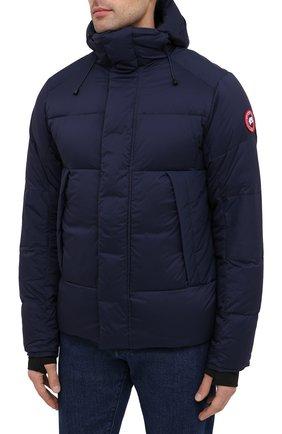 Мужская пуховая куртка armstrong CANADA GOOSE темно-синего цвета, арт. 5076M | Фото 3