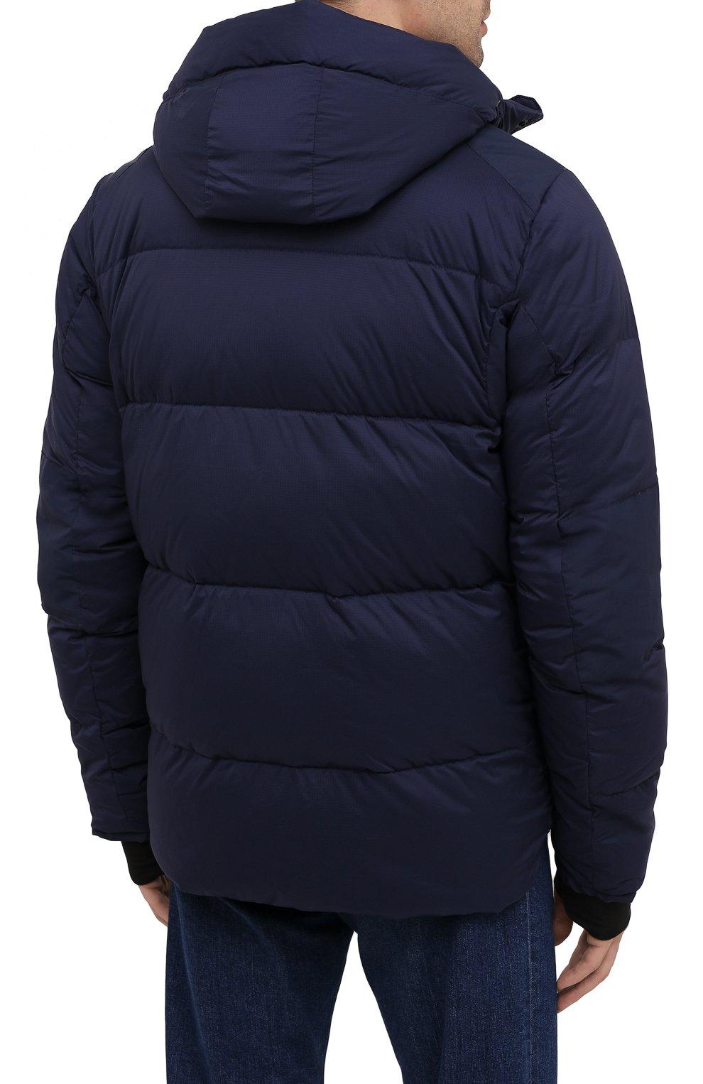 Мужская пуховая куртка armstrong CANADA GOOSE темно-синего цвета, арт. 5076M | Фото 4