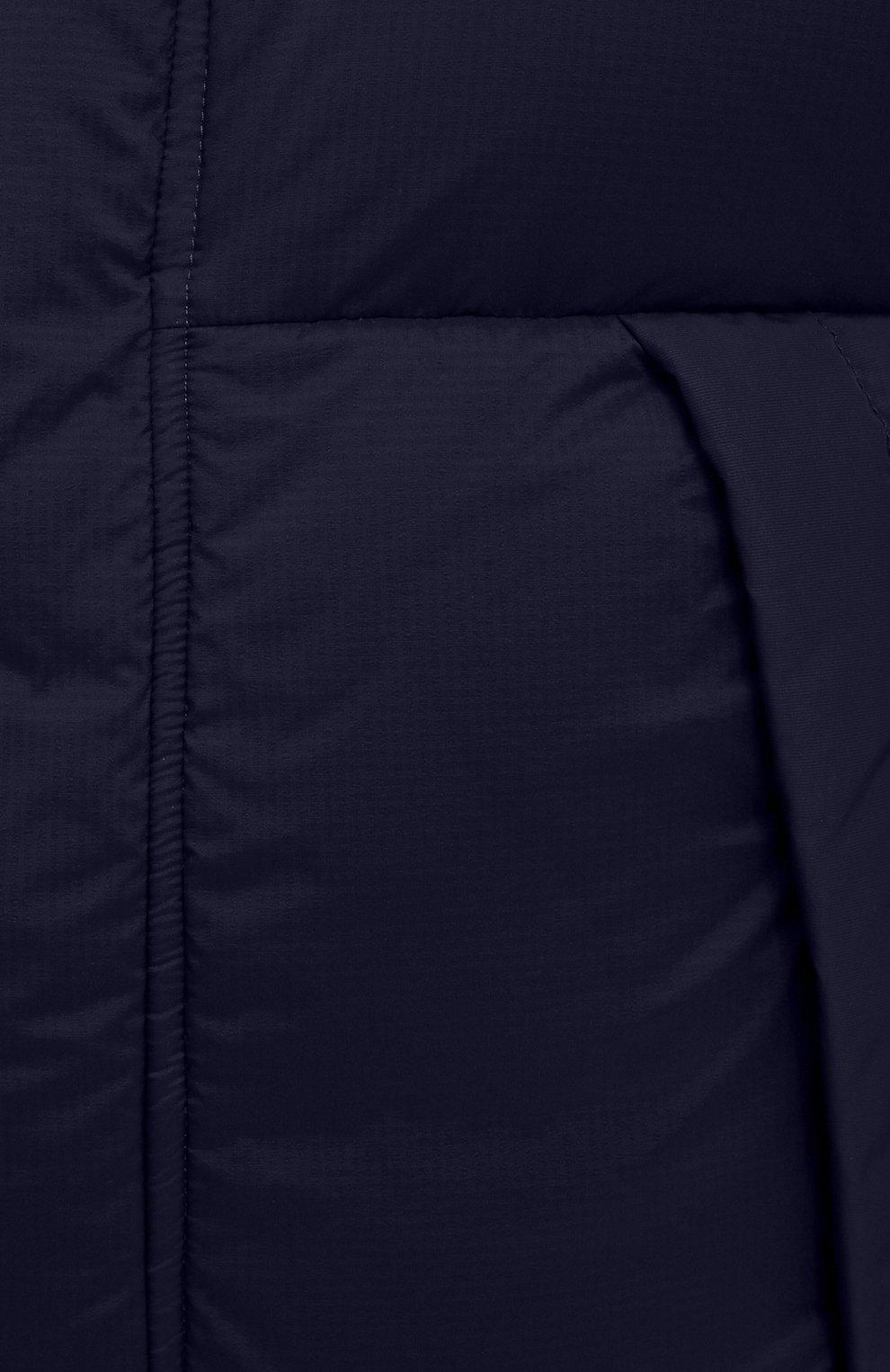 Мужская пуховая куртка armstrong CANADA GOOSE темно-синего цвета, арт. 5076M | Фото 5