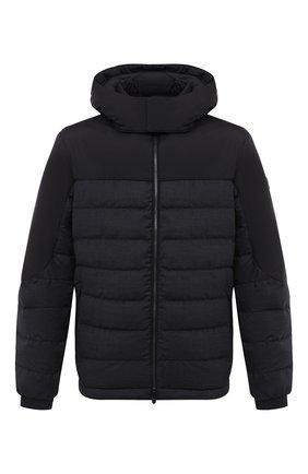 Мужская утепленная куртка Z ZEGNA темно-серого цвета, арт. VV051/ZZT062 | Фото 1