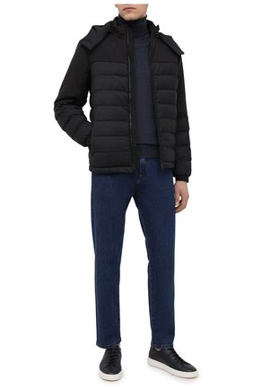 Мужская утепленная куртка Z ZEGNA темно-серого цвета, арт. VV051/ZZT062 | Фото 2