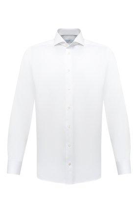 Мужская хлопковая сорочка ETON белого цвета, арт. 1000 02180 | Фото 1