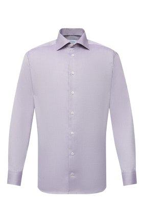 Мужская хлопковая сорочка ETON сиреневого цвета, арт. 1000 01281 | Фото 1