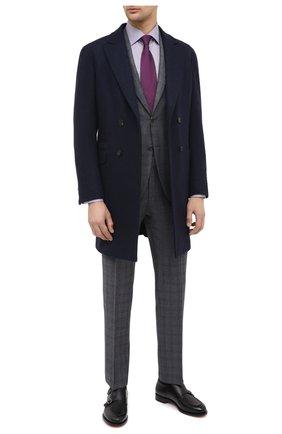 Мужская хлопковая сорочка ETON сиреневого цвета, арт. 1000 01281 | Фото 2