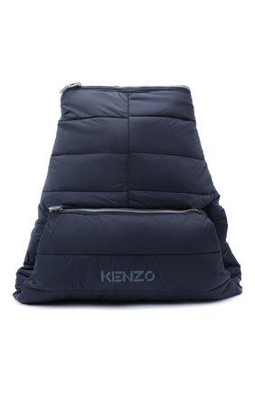 Мужской текстильный рюкзак kenzomania KENZO темно-синего цвета, арт. FA65SA003F08 | Фото 1