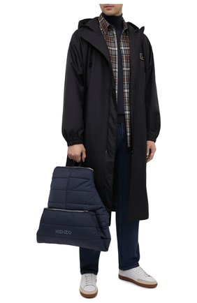 Мужской текстильный рюкзак kenzomania KENZO темно-синего цвета, арт. FA65SA003F08 | Фото 2