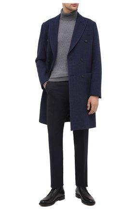 Мужские кожаные ботинки TOD'S черного цвета, арт. XXM62C0DH600LW | Фото 2