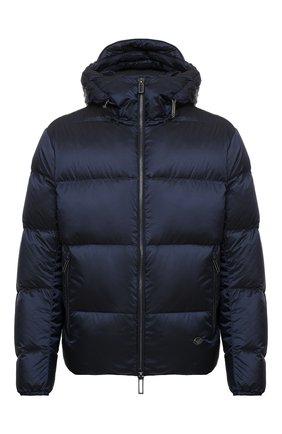 Мужская пуховая куртка EMPORIO ARMANI темно-синего цвета, арт. 6H1BQ1/1NLUZ   Фото 1
