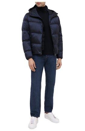 Мужская пуховая куртка EMPORIO ARMANI темно-синего цвета, арт. 6H1BQ1/1NLUZ   Фото 2