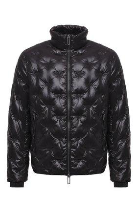 Мужская пуховая куртка EMPORIO ARMANI черного цвета, арт. 6H1BM2/1NLXZ   Фото 1