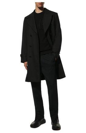 Мужские брюки TOM FORD черного цвета, арт. BV264/TFJ980 | Фото 2