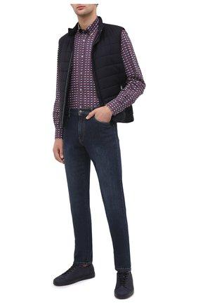 Мужская хлопковая рубашка PAUL&SHARK разноцветного цвета, арт. I20P3131/C00 | Фото 2