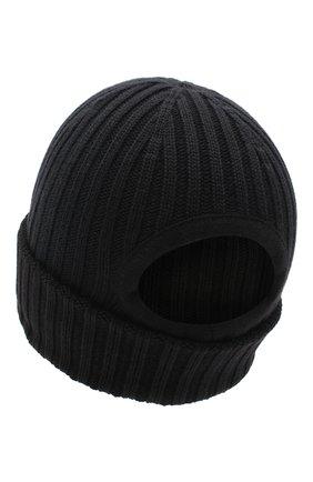 Мужская хлопковая шапка le bonnet JACQUEMUS черного цвета, арт. 206AC07/514960   Фото 2