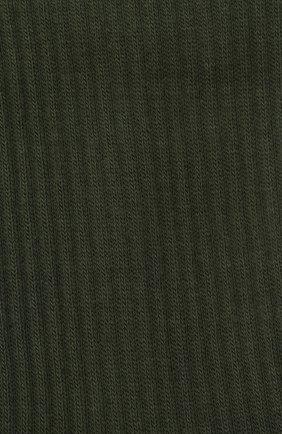 Мужские хлопковые носки JACQUEMUS зеленого цвета, арт. 206AC12/515550 | Фото 2