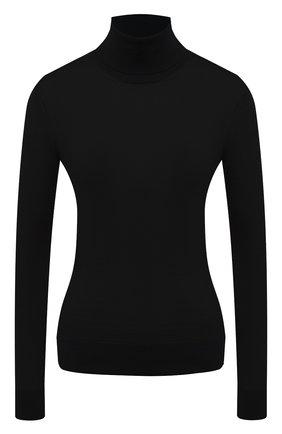 Женская кашемировая водолазка RALPH LAUREN черного цвета, арт. 290615195   Фото 1