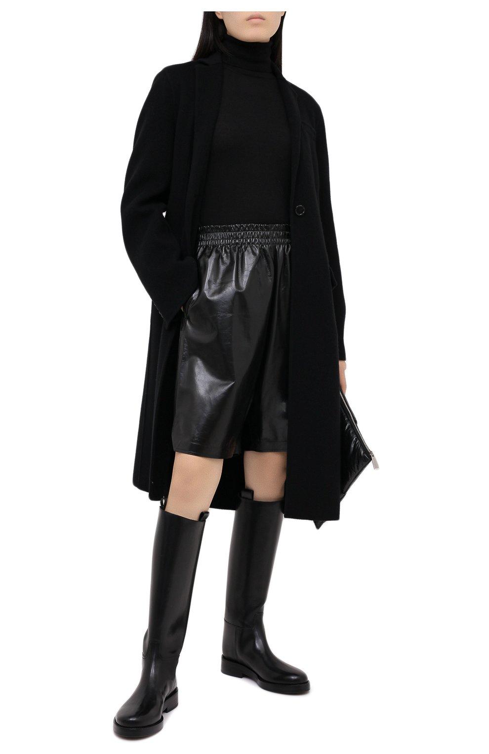 Женская кашемировая водолазка RALPH LAUREN черного цвета, арт. 290615195   Фото 2