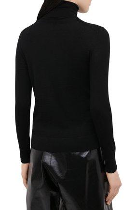 Женская кашемировая водолазка RALPH LAUREN черного цвета, арт. 290615195   Фото 4