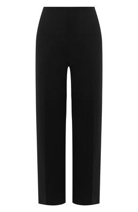 Женские шерстяные брюки OSCAR DE LA RENTA черного цвета, арт. 20PN3042DSW | Фото 1