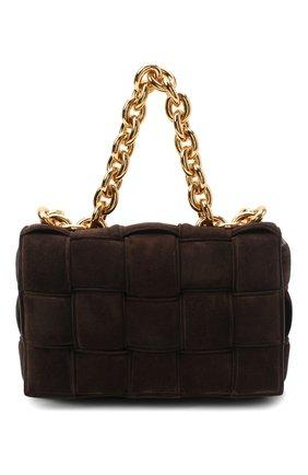 Женская сумка BOTTEGA VENETA темно-коричневого цвета, арт. 631421/V04N0 | Фото 1