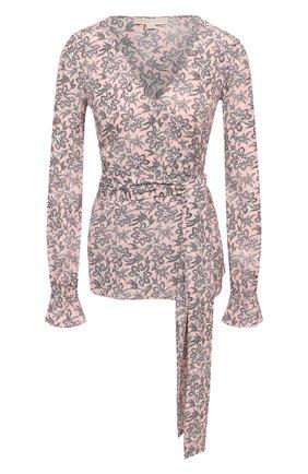 Женская блузка MICHAEL MICHAEL KORS розового цвета, арт. MU04LYKF0F | Фото 1