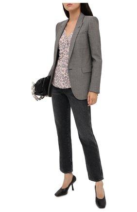 Женская блузка MICHAEL MICHAEL KORS розового цвета, арт. MU04LYKF0F | Фото 2
