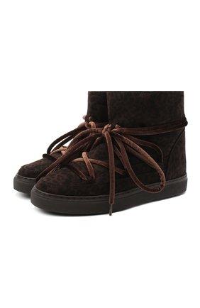 Женские ботинки INUIKII коричневого цвета, арт. 70202-54 | Фото 1