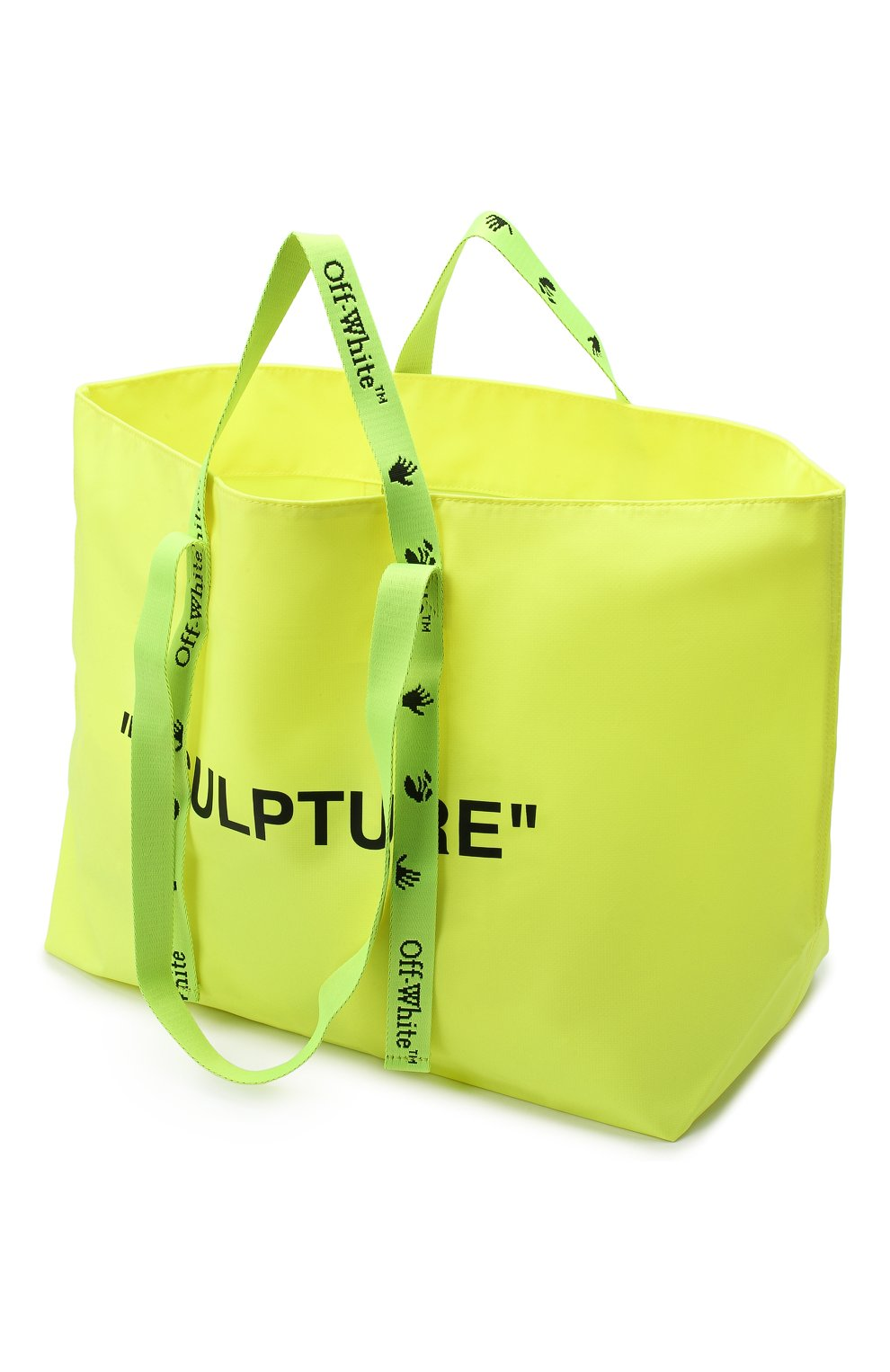 Женский сумка-тоут sculpture OFF-WHITE желтого цвета, арт. 0WNA094E20PLA0011810 | Фото 4