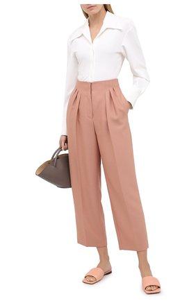 Женские брюки JM STUDIO розового цвета, арт. FW202102   Фото 2