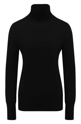 Женская шерстяная водолазка TAK.ORI черного цвета, арт. SWK50019WV100AW20 | Фото 1 (Материал внешний: Шерсть; Рукава: Длинные; Длина (для топов): Стандартные; Женское Кросс-КТ: Водолазка-одежда)