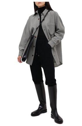Женская шерстяная водолазка TAK.ORI черного цвета, арт. SWK50019WV100AW20 | Фото 2 (Материал внешний: Шерсть; Рукава: Длинные; Длина (для топов): Стандартные; Женское Кросс-КТ: Водолазка-одежда)