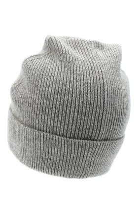 Женская кашемировая шапка CANOE серого цвета, арт. 4912173 | Фото 2