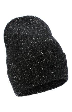 Женская шерстяная шапка CANOE черного цвета, арт. 4003510 | Фото 1