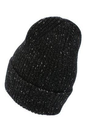 Женская шерстяная шапка CANOE черного цвета, арт. 4003510 | Фото 2