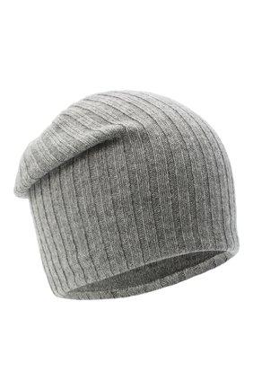 Женская кашемировая шапка CANOE серого цвета, арт. 4915173 | Фото 1