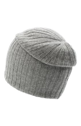 Женская кашемировая шапка CANOE серого цвета, арт. 4915173 | Фото 2