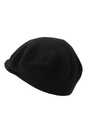Женская кашемировая кепи CANOE черного цвета, арт. 4916010 | Фото 2