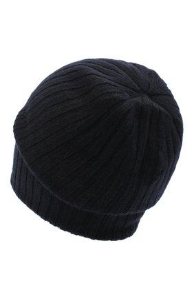 Женская кашемировая шапка CANOE темно-синего цвета, арт. 4915105 | Фото 2