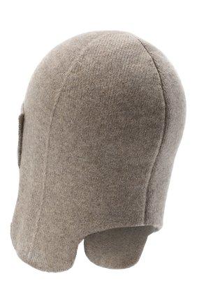 Женская кашемировая шапка-ушанка CANOE бежевого цвета, арт. 4916456 | Фото 2