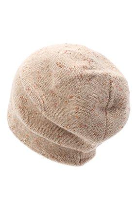 Женская шерстяная шапка CANOE светло-коричневого цвета, арт. 4003492 | Фото 2