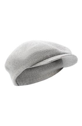 Женская кашемировая кепи CANOE серого цвета, арт. 4916070 | Фото 1