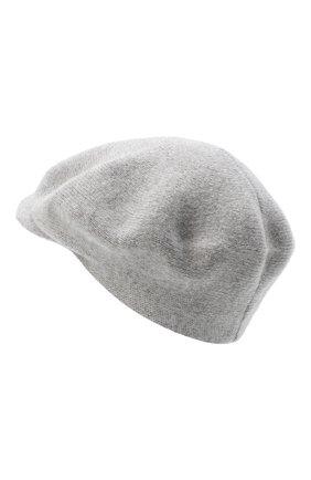 Женская кашемировая кепи CANOE серого цвета, арт. 4916070 | Фото 2