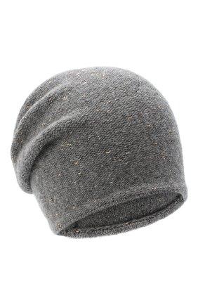 Женская шерстяная шапка CANOE серого цвета, арт. 4003470 | Фото 1