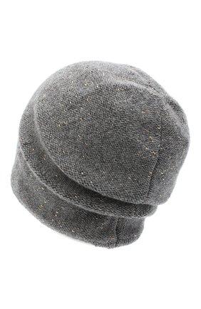 Женская шерстяная шапка CANOE серого цвета, арт. 4003470 | Фото 2