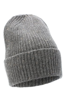 Женская шерстяная шапка CANOE серого цвета, арт. 4003570 | Фото 1