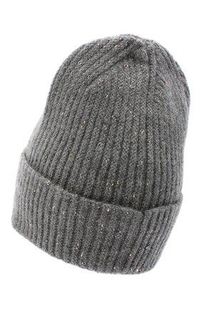 Женская шерстяная шапка CANOE серого цвета, арт. 4003570 | Фото 2