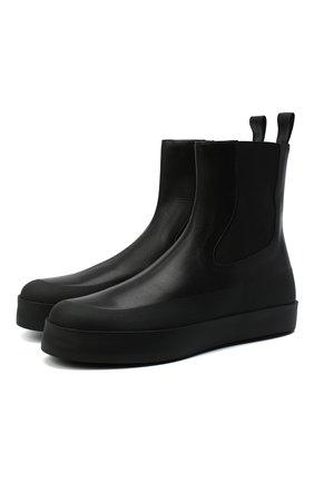 Женские кожаные ботинки zaniah NEOUS черного цвета, арт. 00210A01EL01 | Фото 1
