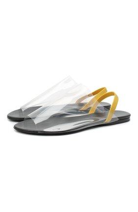Женские сандалии THE ROW белого цвета, арт. F1164-PVC | Фото 1