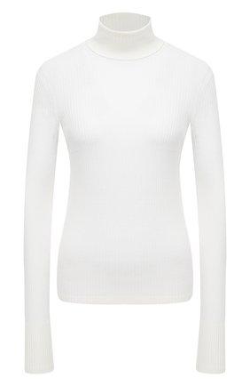 Женская шерстяная водолазка MRZ белого цвета, арт. FW20-0115 | Фото 1