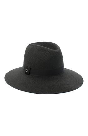 Женская фетровая шляпа LORO PIANA серого цвета, арт. FAL4644 | Фото 1 (Материал: Шерсть)