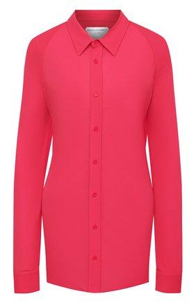 Женская рубашка BOTTEGA VENETA розового цвета, арт. 636591/V02I0 | Фото 1